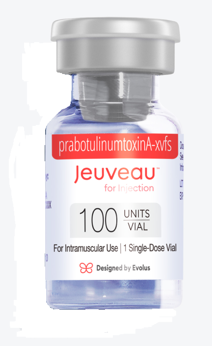 1 single dose-vial of Jeuveau