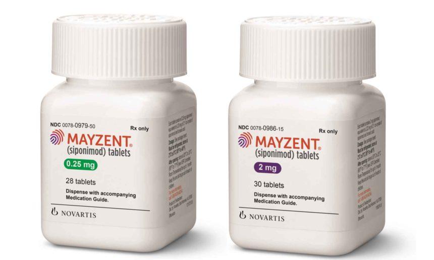 Bottle of Mayzent